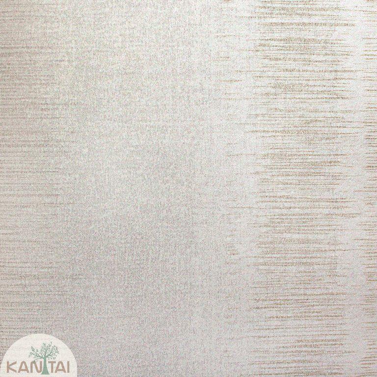 Parede de parede Kan Tai TNT Coleção Space 4 Textura Creme, Detalhes Riscas Verticais Bege