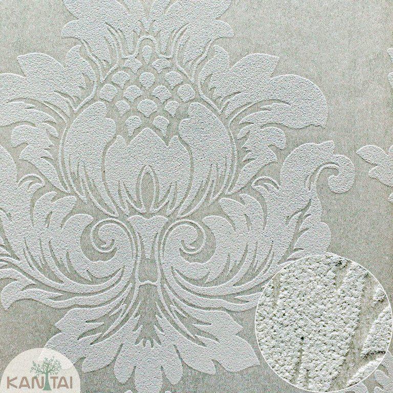 Parede de parede Kan Tai TNT Coleção Space 4 Arabesco Creme