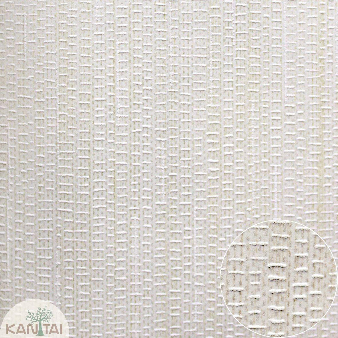 Parede de parede Kan Tai TNT Coleção Space 4 Textura Trama Tons creme