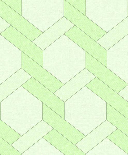 Papel de Parede TNT Coleção YoYo Infantil Geométrico Verde