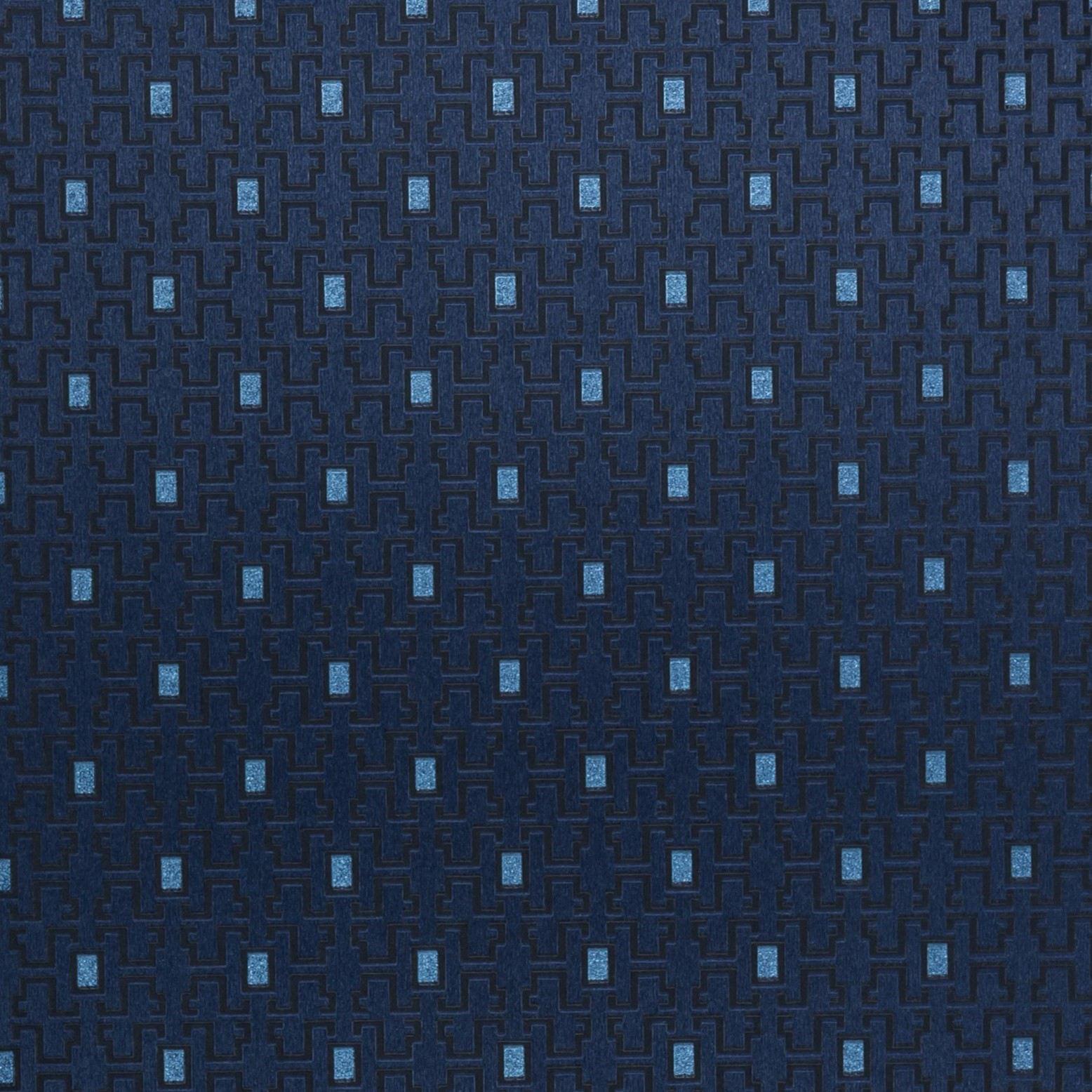 Papel de Parede Paris Decor Vinílico Coleção Colmar Geométrico Azul Marinho