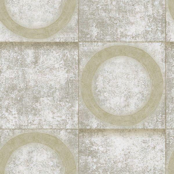 Papel de Parede Kan Tai Vinílico Coleção Neonature 5 Cimento Geométrico Tons de bege