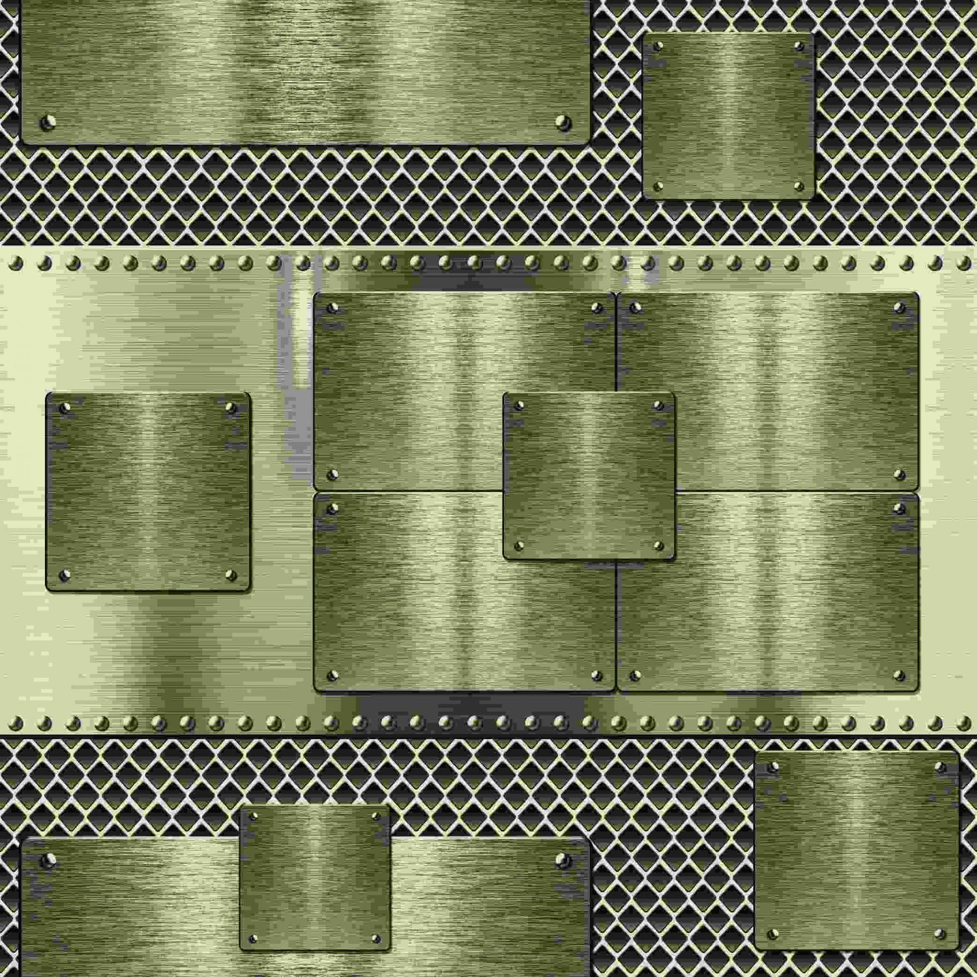 Papel de Parede Kan Tai Vinílico Coleção Neonature 5 Geométrico Amarelado metalizado