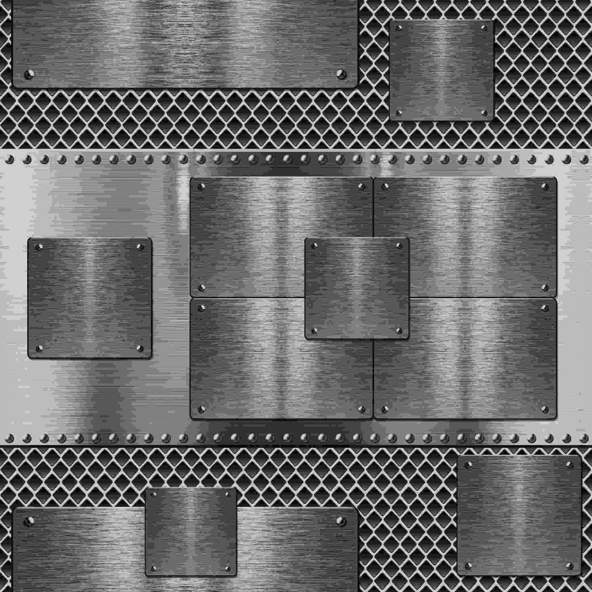 Papel de Parede Kan Tai Vinílico Coleção Neonature 5 Geométrico cinza metalizado