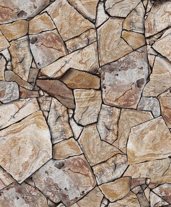 Papel de Parede Kan Tai Vinílico Coleção Neonature 5 Pedra Cinza, Marrom