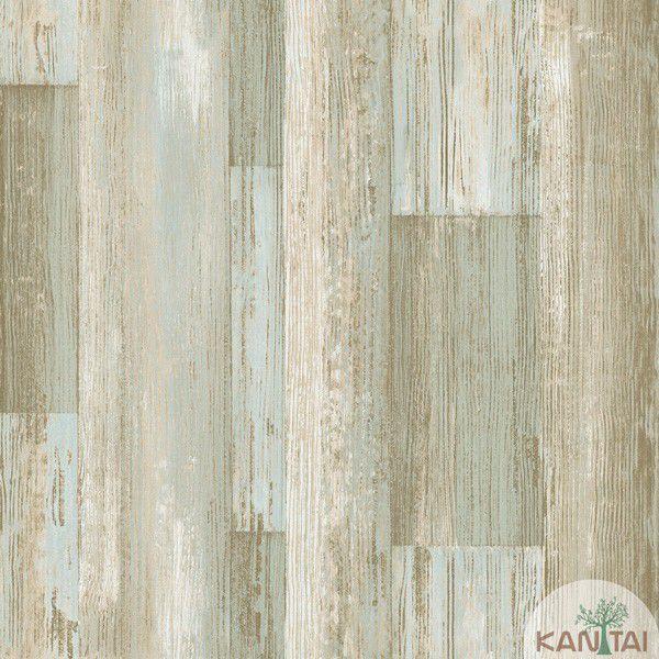 Papel de Parede Kan Tai  VinÍlico  Coleção Neonature IV Textura Patina Tons verde, Bege