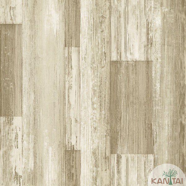 Papel de Parede  Kan Tai  VinÍlico  Coleção Neonature IV Textura Patina Tons Marrom claro, Bege