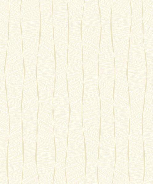 Papel de Parede Vinílico Coleção YoYo Infantil Textura Formas Amarelo