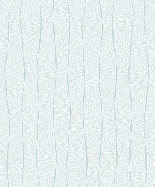 Papel de Parede Vinílico Coleção YoYo Infantil Textura Formas Azul claro