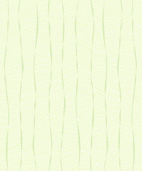 Papel de Parede Vinílico Coleção YoYo Infantil Textura Formas Verde