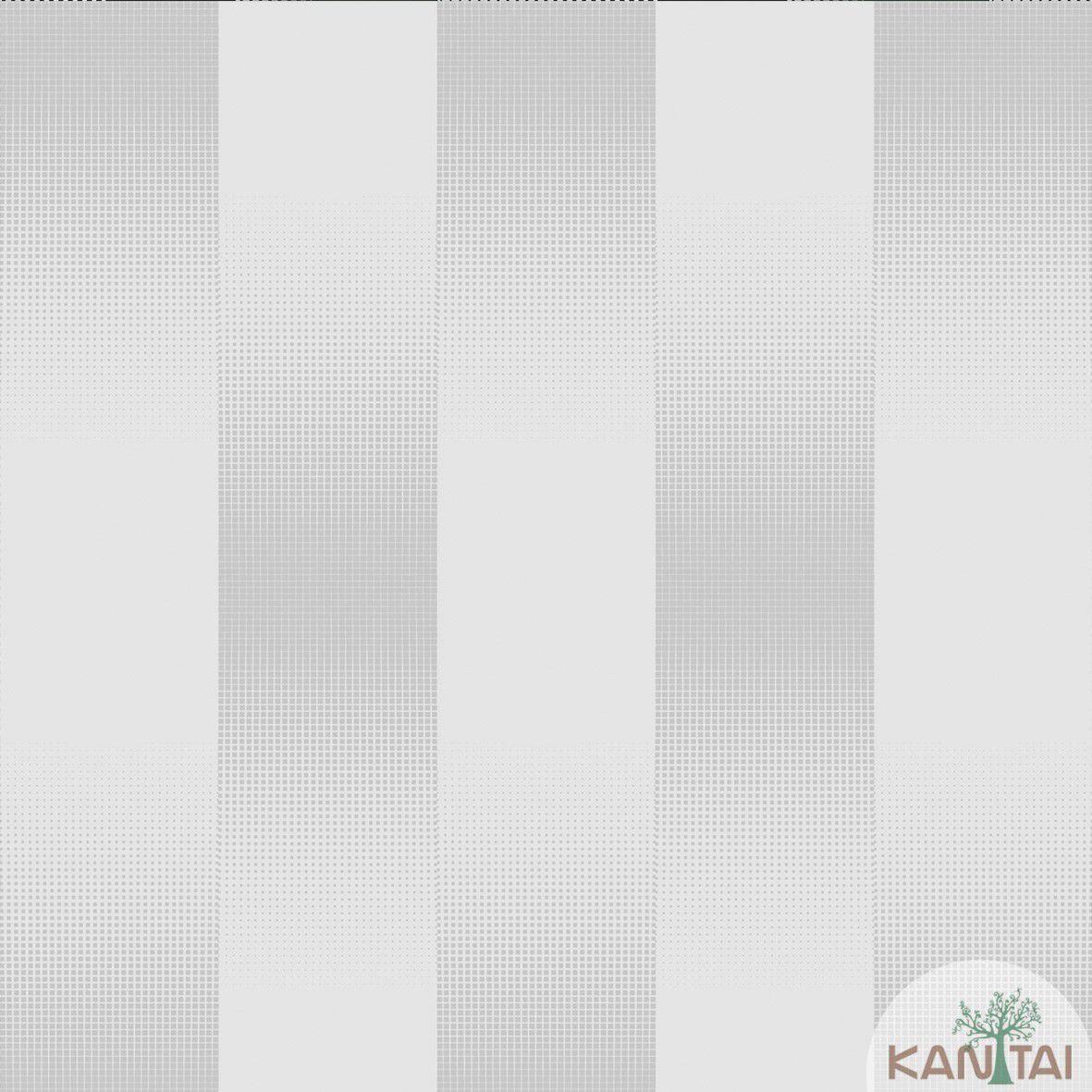 Papel de Parede   Kan Tai  Vinilico Coleção Neonature III Listrado Creme, Prata, Brilho