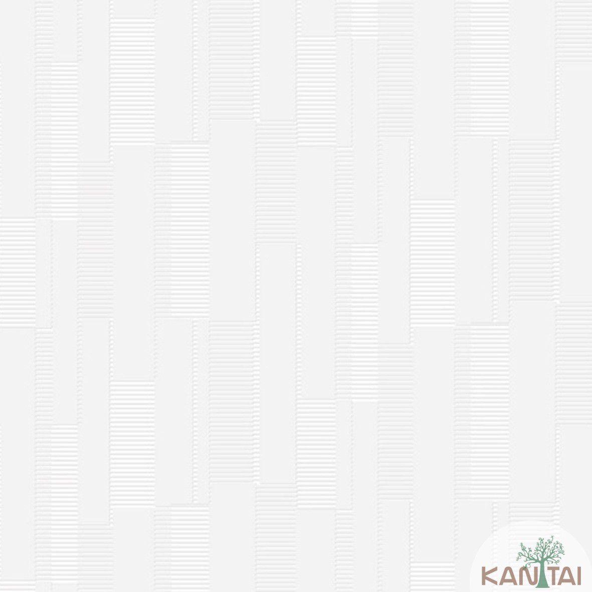 Papel de Parede   Kan Tai Vinilico Coleção Style Geométrico Marfim, Bege