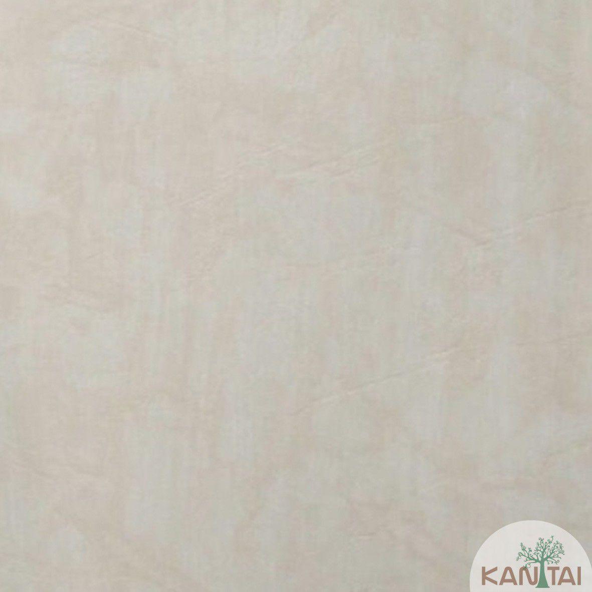 Papel de Parede Kan Tai Vinilico Coleção Style Cimento Queimado Bege Claro