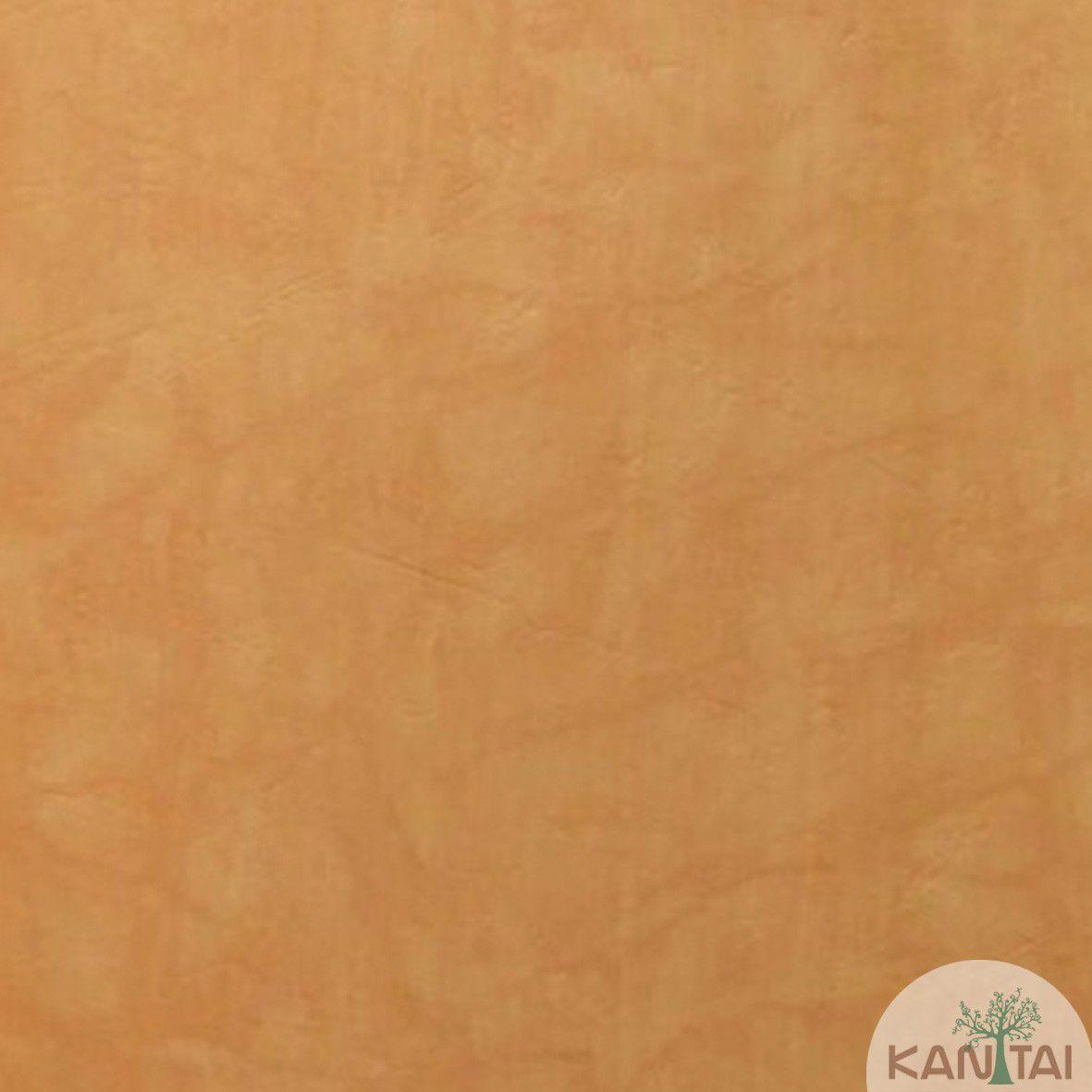 Papel de Parede  Kan Tai Vinilico Coleção Style Cimento Queimado Laranja