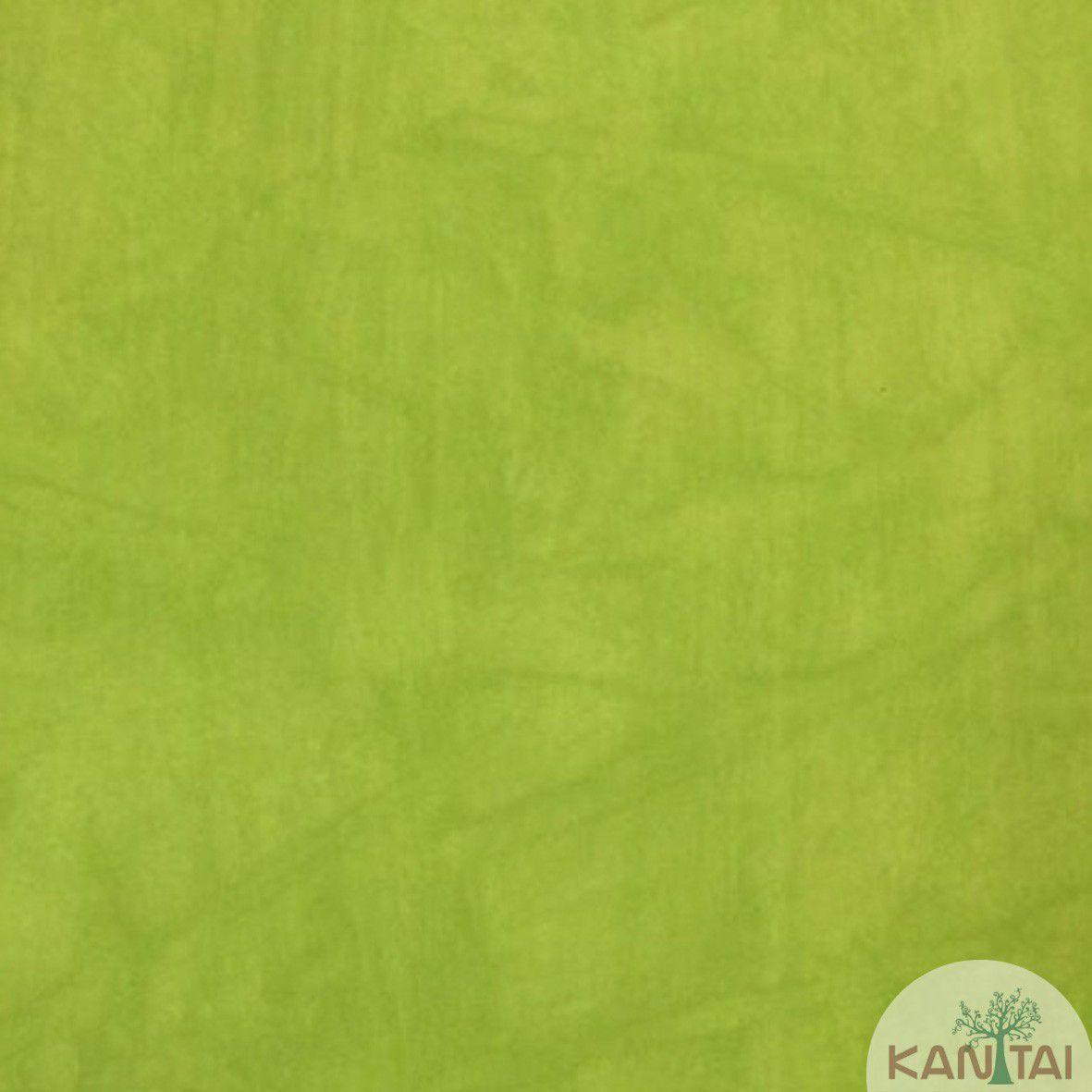 Papel de Parede  Kan Tai Vinilico Coleção Style Textura Cimento Queimado Verde