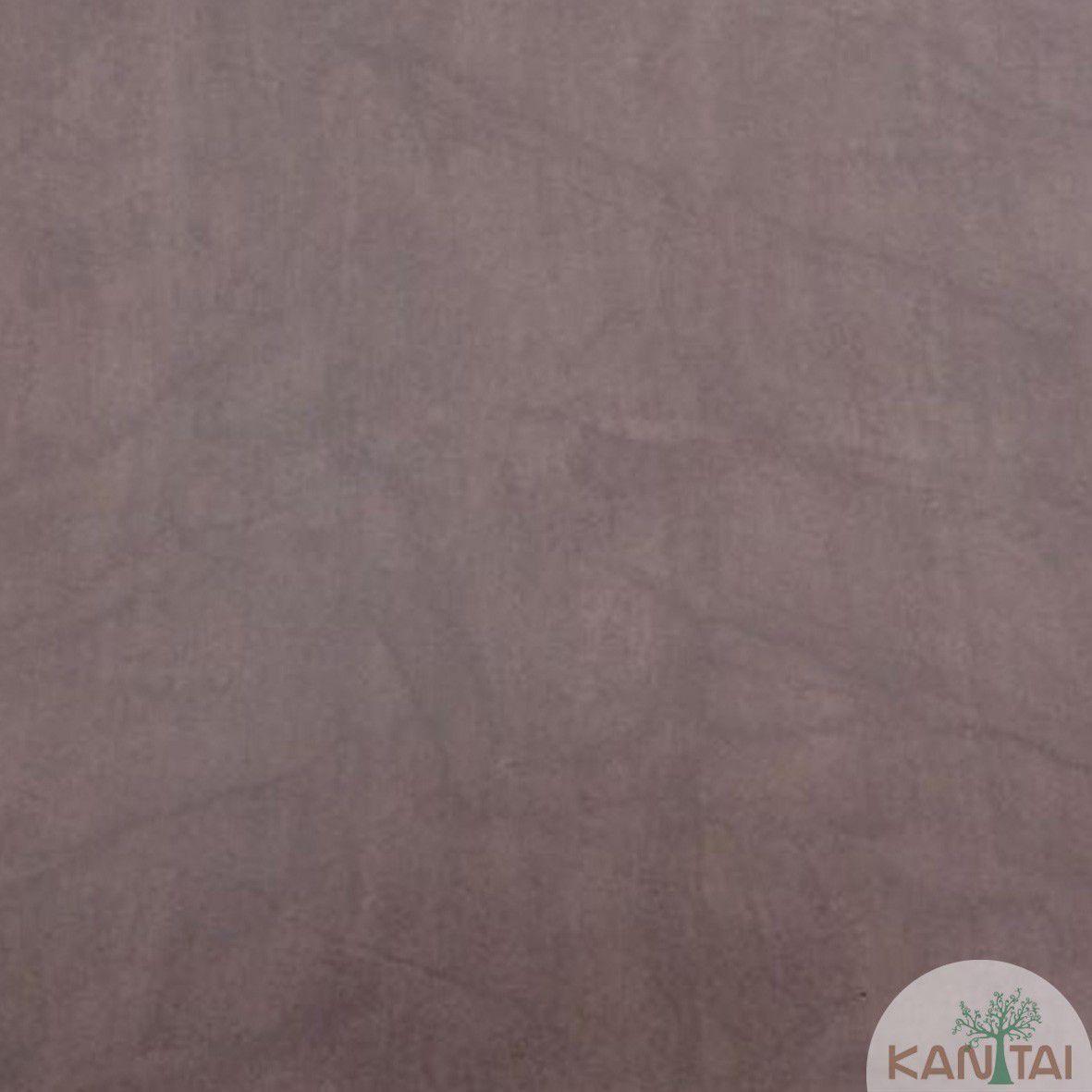 Papel de Parede  Kan Tai Vinilico Coleção Style  Cimento Queimado Lilás