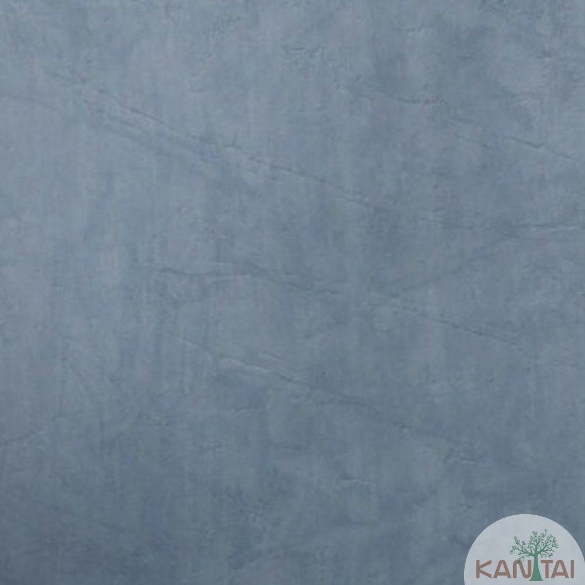 Papel de Parede  Kan Tai Vinilico Coleção Style Cimento Queimado Azul