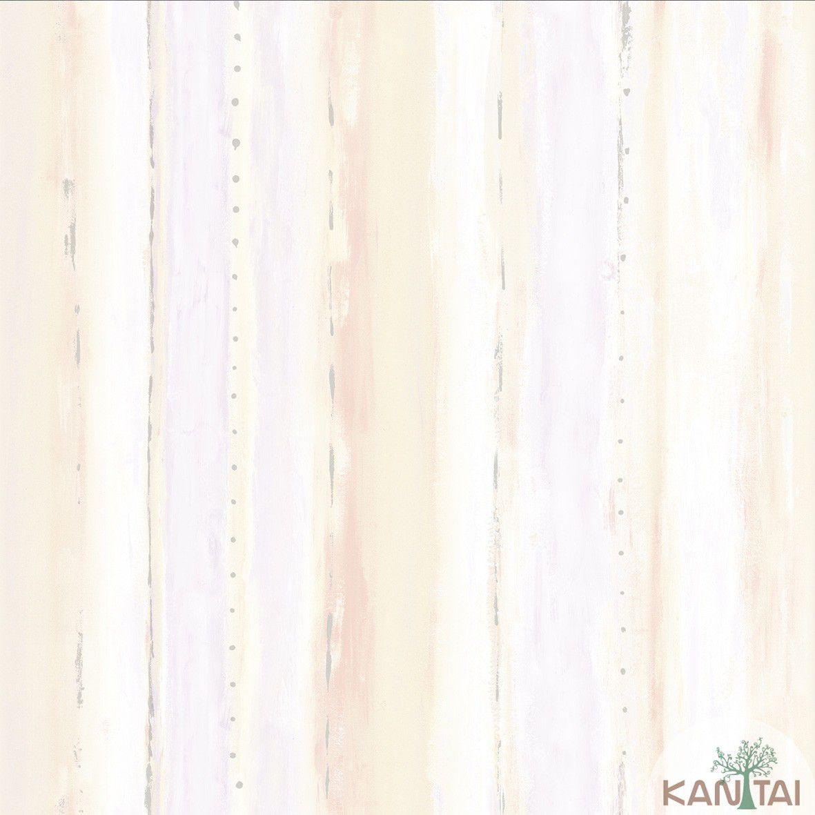 Papel de Parede   Kan Tai  Vinilico Coleção Style Textura  Aquarelado Tons Bege, Cinza. Amarelo
