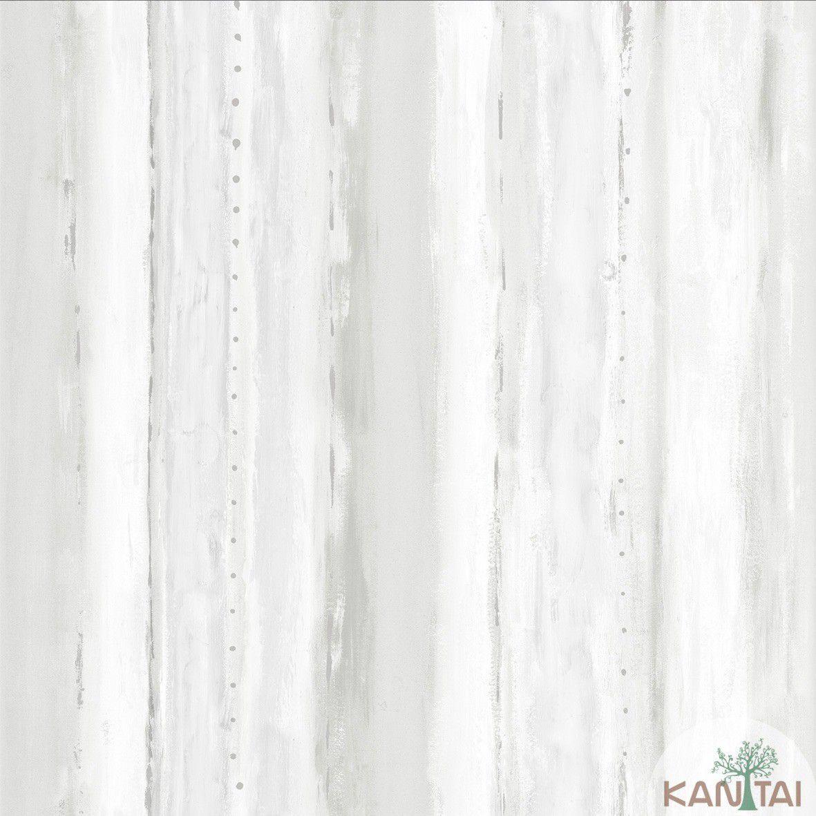 Papel de Parede  Vinilico Coleção Style Textura Aquarelado Tons de Cinza, Bege