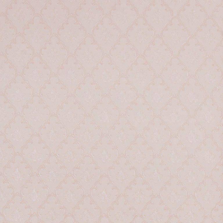 Papel de Parede Paris Decor Vinílico Coleção Paris Mini Damask Nude, Champagne
