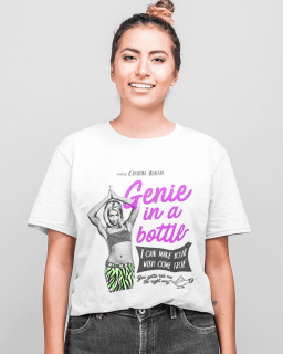 Camiseta Christina Aguilera - Genie In A Bottle