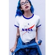 Camiseta College - Nasa