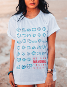 Camiseta Diamonds - Coldplay