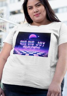 Camiseta Plus Size Dig Dig Joy - Sandy e Junior