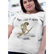 Camiseta Ooops - Plus Size