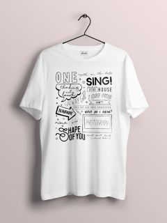 Camiseta PLUS SIZE Ed Sheeran - Songs