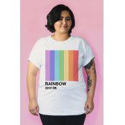 Camiseta PLUS SIZE Pantone Rainbow