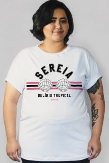 Camiseta PLUS SIZE Sereia - Delírio Tropical