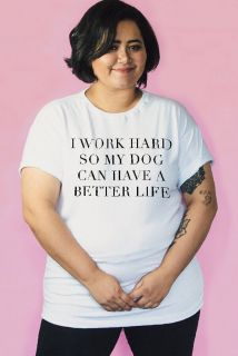 Camiseta PLUS SIZE Work Hard