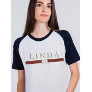Camiseta Raglan Linda