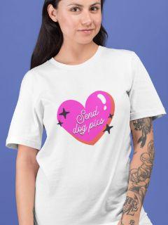 Camiseta Send Dog Pics