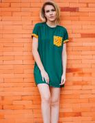 T-shirt Dress Cactos