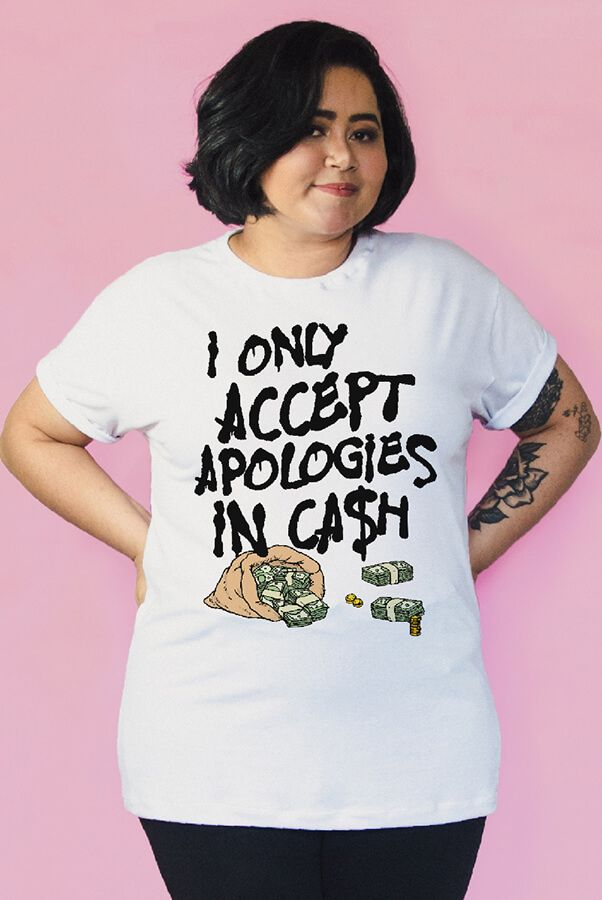 Camiseta Apologies  - Doiska