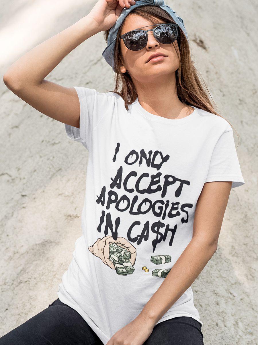 Camiseta Apologies
