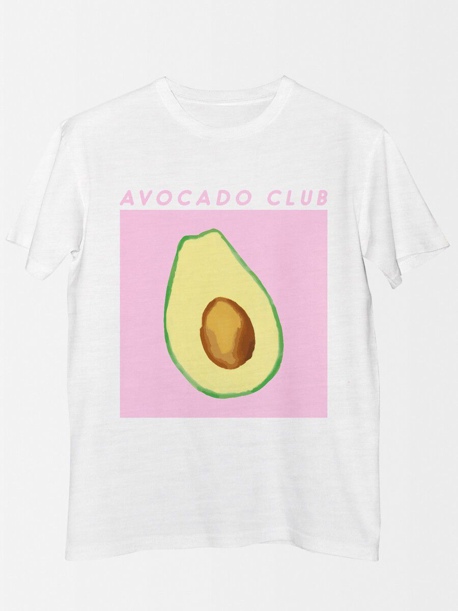 Camiseta Avocado Club  - Doiska