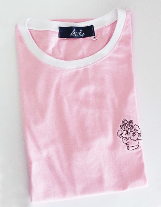 Camiseta Bordada Vase