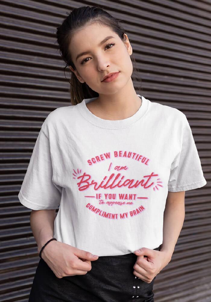 Camiseta Brilliant - Grey
