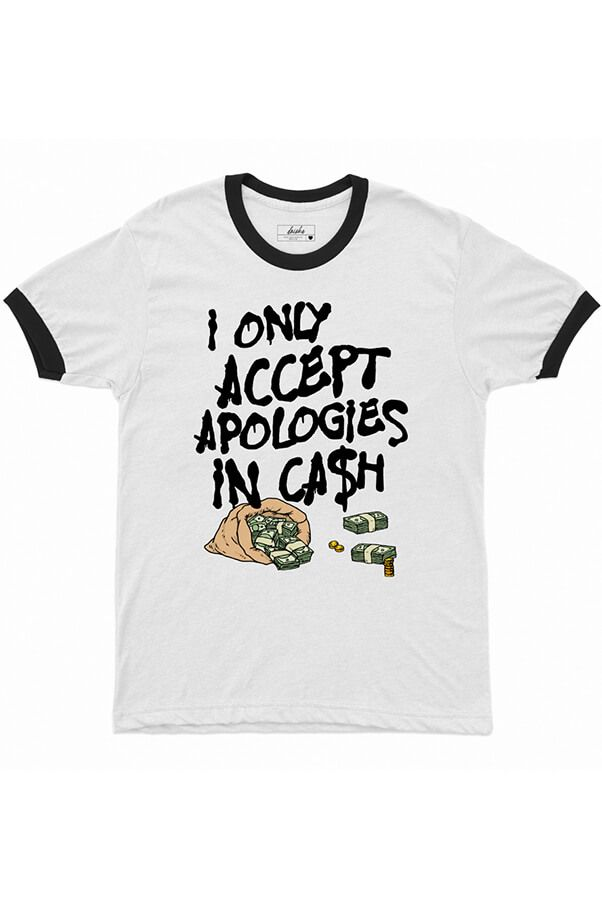 Camiseta College  Apologies   - Doiska