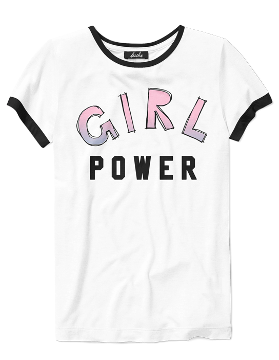 Camiseta College Girl Power  - Doiska