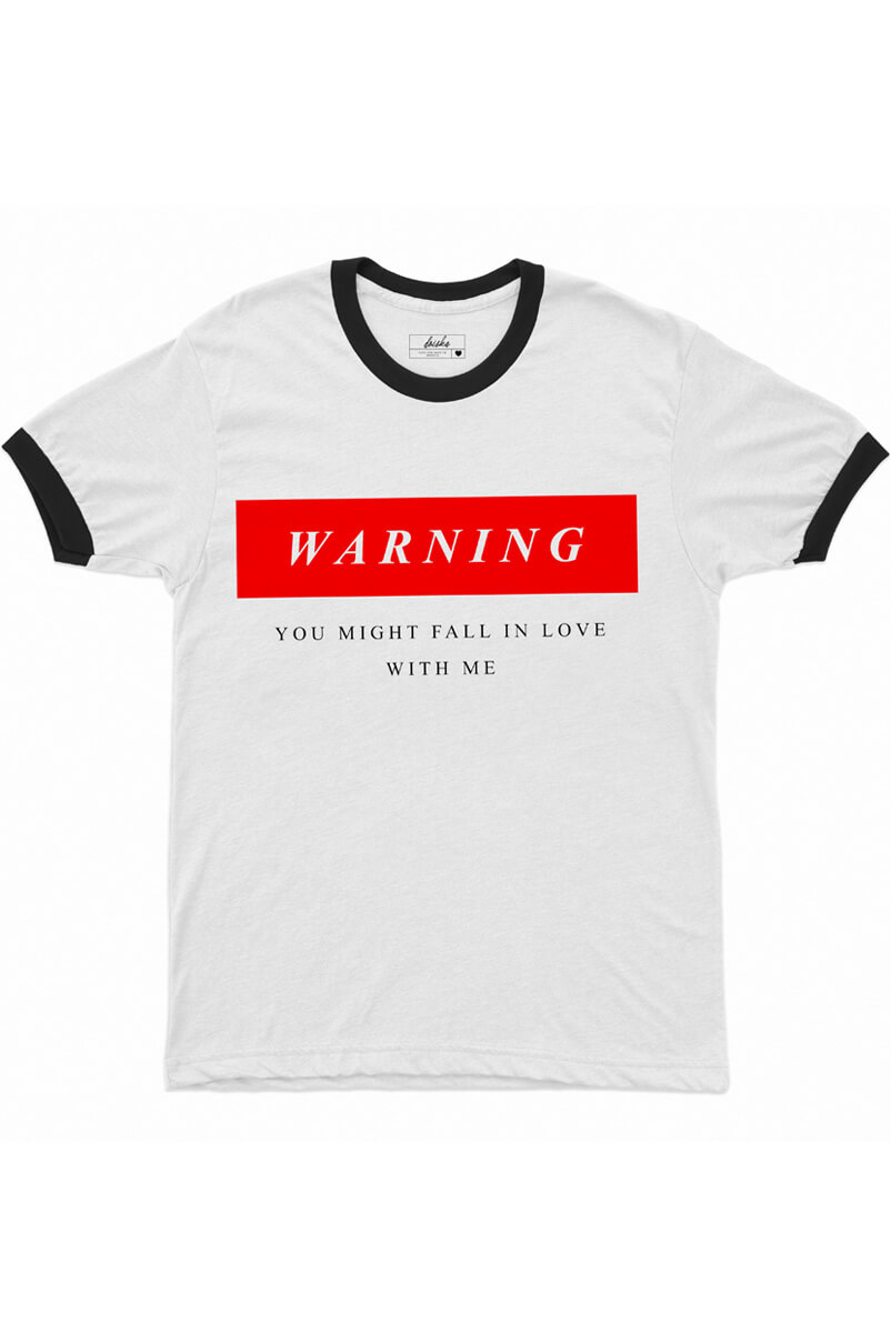 Camiseta College Warning