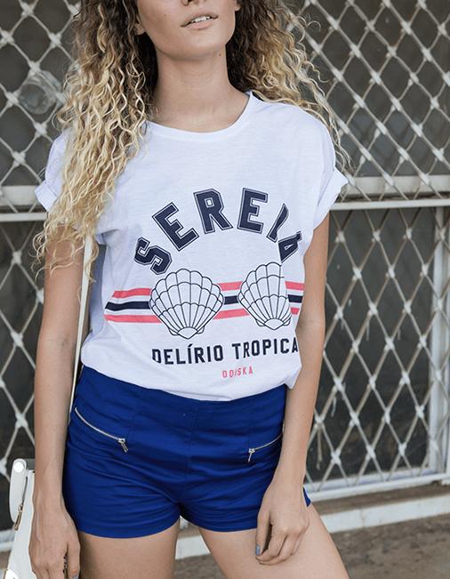 Camiseta Sereia - Delírio Tropical