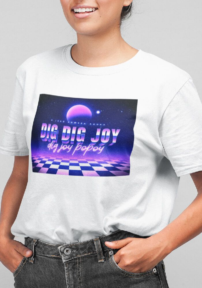 Camiseta Dig Dig Joy