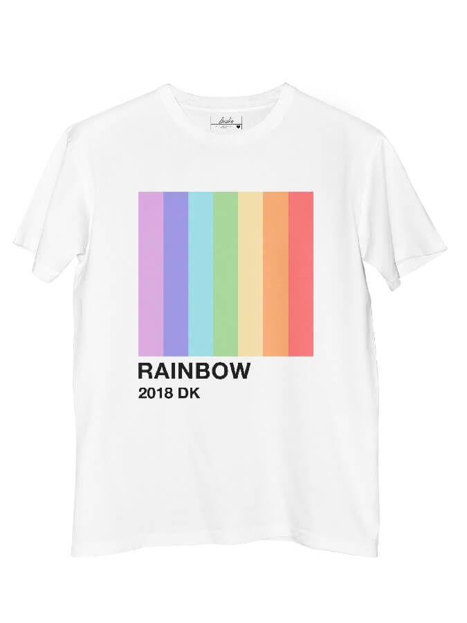 Camiseta Doiska Pantone Rainbow