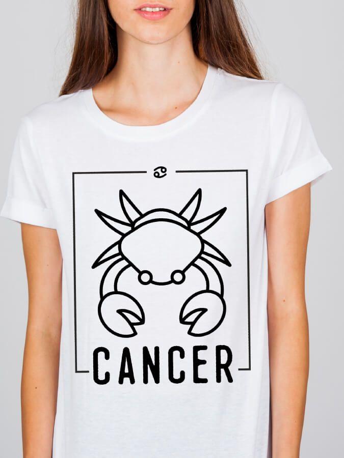 Camiseta Doiska Signo Câncer