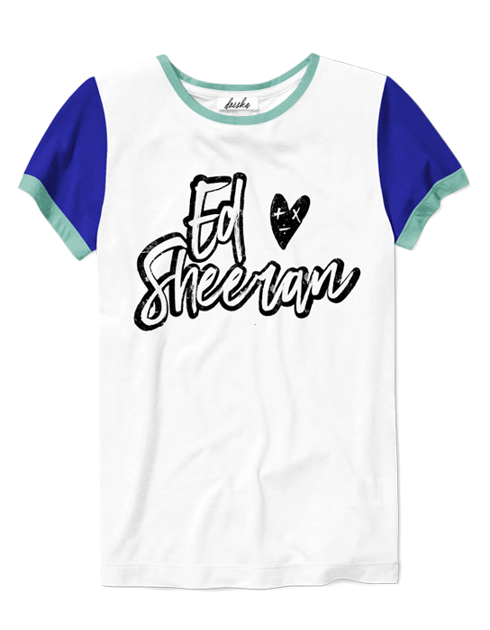 Camiseta Ed Sheeran