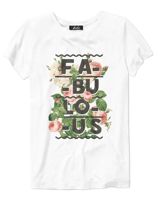 Camiseta Fabulous  - Doiska